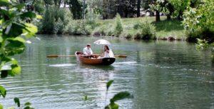 романтика в лодка